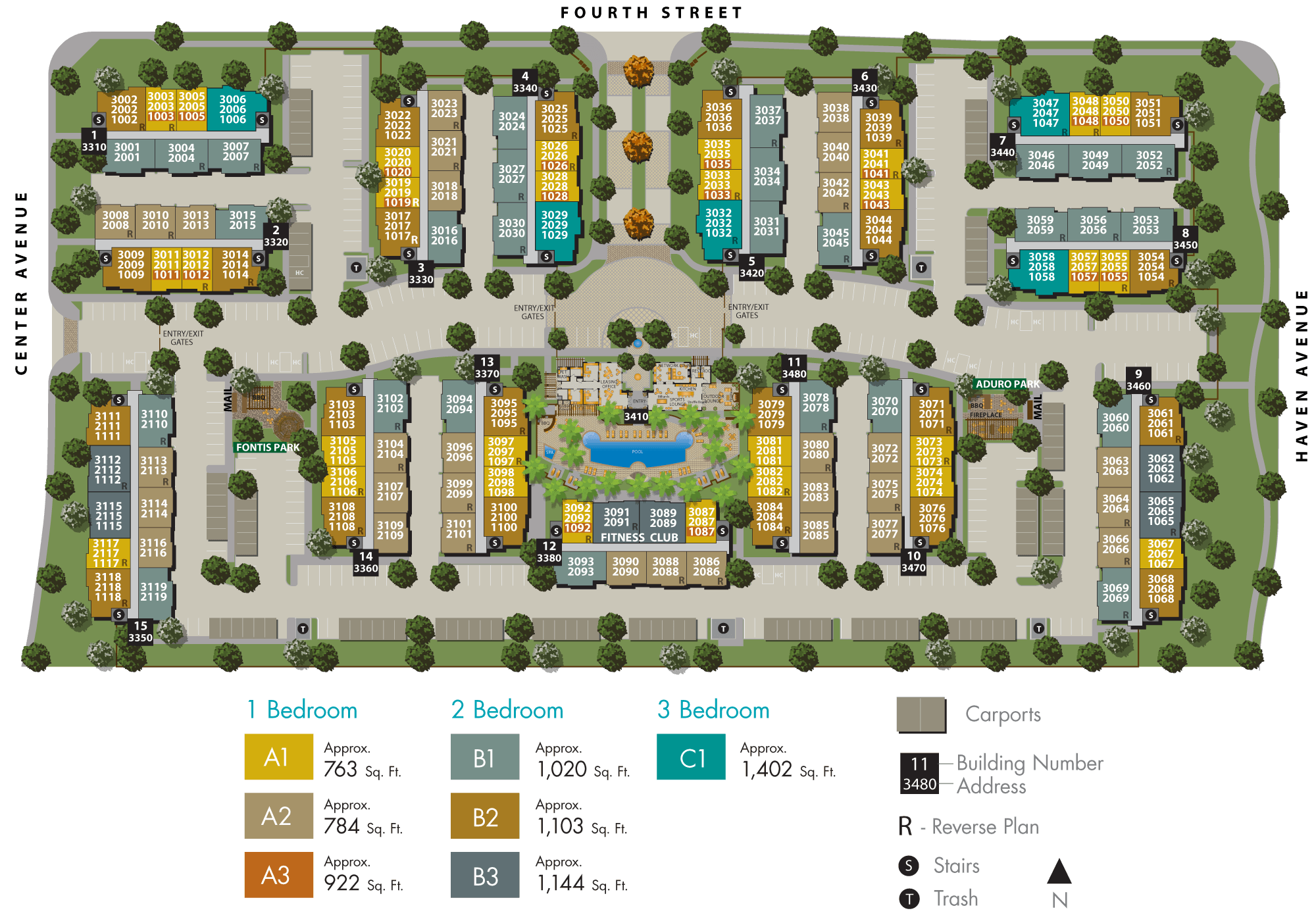 Vistara Site Plan
